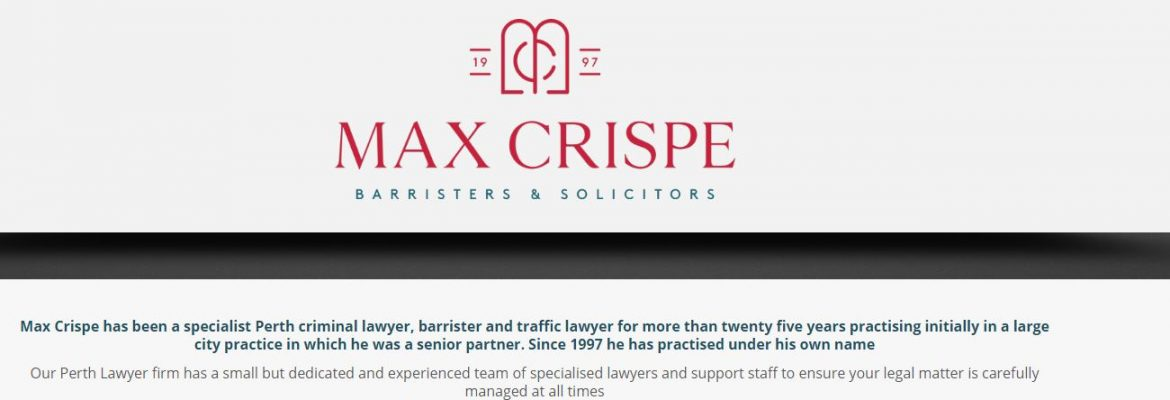 Max Crispe Barristers and Solicitors
