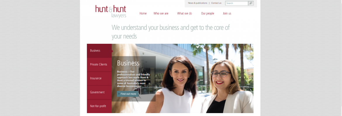 Hunt and Hunt Lawyers